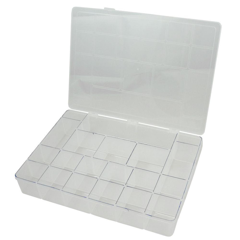 Organizador pl stico 20 divis es gg rei dos estojos - Organizador de bolsas de plastico ...