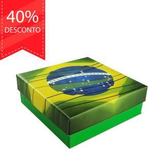 20a81137512c5 Estojo Pátria de Papel Cores Brasileiras para Joias (Cordão ou Brinco) Item
