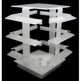Expositor-Acrilico-96-Piercing-Giratorio-branco